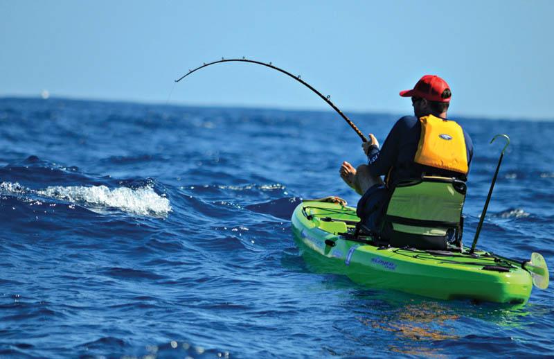oex sunset beach kayak fishing